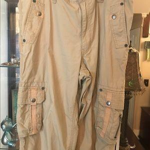 Amazing INC EXTRA long cargo shorts. 34